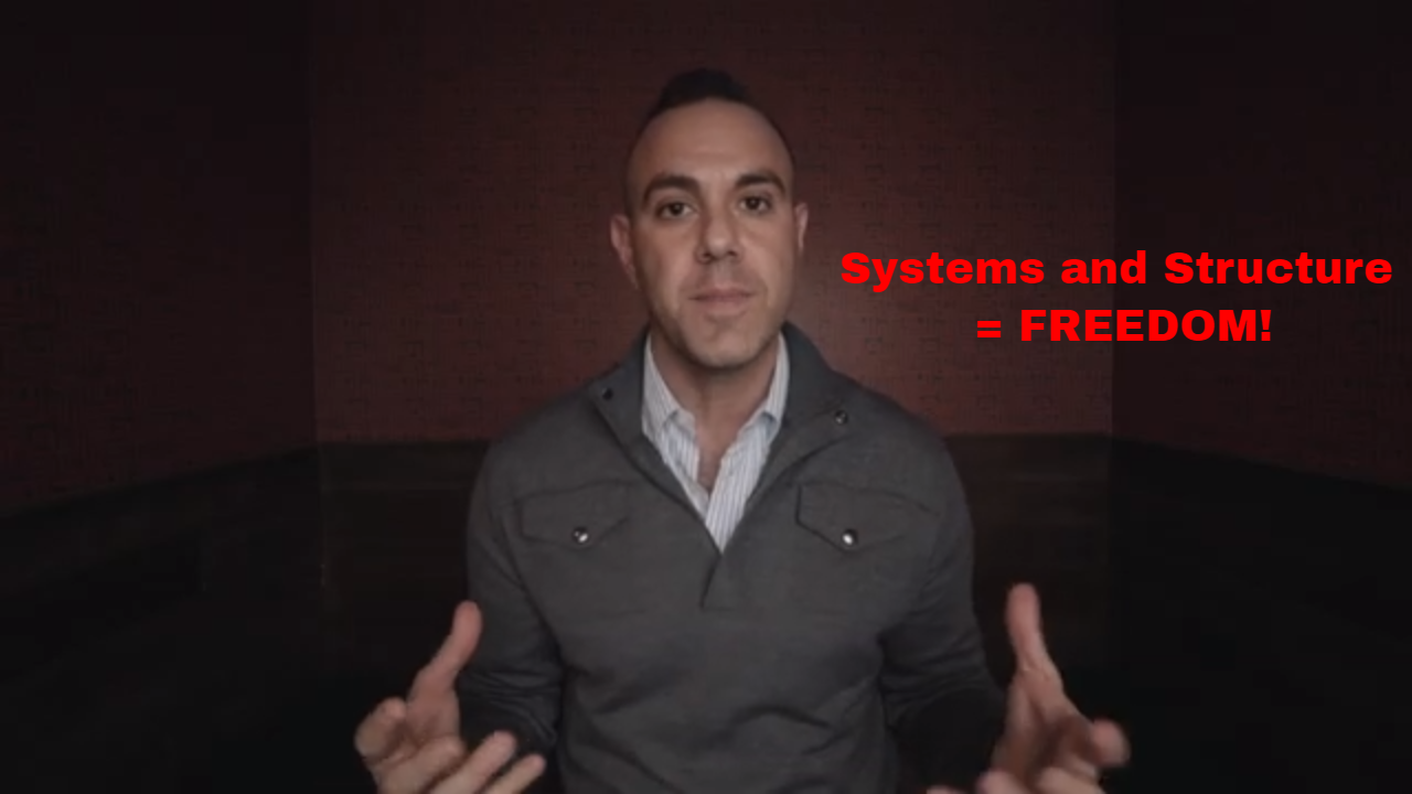 Systems And Structure = FREEDOM! [VIDEO]